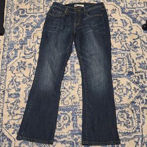 Levi Bootcut size 6S bootcut jeans